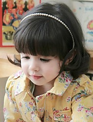 Kids Cute Sweet Pearl Hair Bands