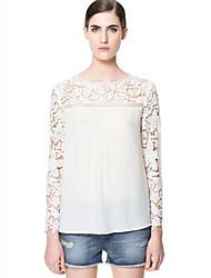 Sexy Langarm - FRAUEN - T-Shirts ( Chiffon )