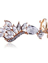 européennes cristal boucles d'oreilles diamant 1 pc