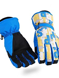 Paret-kind thermische fashional waterdicht&winddicht ski handschoenen