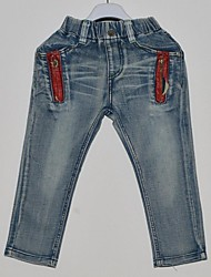 Boy's Denim Jeans , All Seasons
