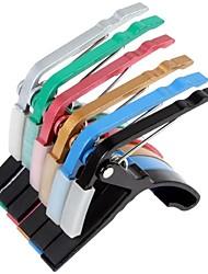 braçadeira de mudança rápida capo guitarra chave para 6 cores para a opção