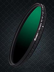 erimai 58mm / 67mm / 77mm / 82mhd verstelbare nd2-400 waterdichte filter