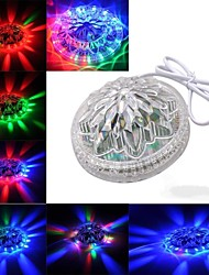 girasol voz luz de la etapa activa de 48 leds 8 modelos de efectos de luz RGB para el partido ktv espectáculo boda del club de control