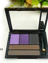 3 Colors Eyeshadow and 2 Colors Eyebrow Powder (6 Selectable Colors)