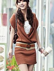 Mica Women's Fashion Irregular Dress(With Belt)