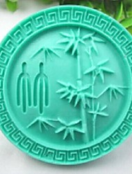 Bamboo Plants DIY Fondant Cake Chocolate Silicone Mold Cake Decoration Tools,L8.5cm*W8.5cm*H3.5cm