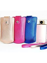 dengpin PU-Leder Luxus-Diamant-Stil Kameratasche Tasche mit Trageriemen für Sony DSC-kw1 kw1 Cyber-shot