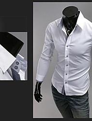 Джейсон мужские случайные пользовательские воротник подходит стенд футболки