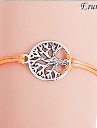 moda padrão colorido da árvore de vida pulseira (cores sortidas)