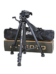 JINFOTO 540 Portable Aluminium Camera Tripod with Cradle Head for Camcorders/Cameras/SLRs