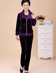casuais ternos esportes das mulheres (o hoodie&calções) (mais cores)