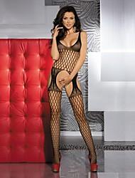 Ženy Ultra sexy Noční prádlo Jednobarevné Nylon Černá