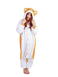 Cute Hamtaro  Polar Fleece Kigurumi Pajamas Cosplay Costumes
