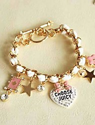 Cute Bow and Poker Bracelet(More Colors)
