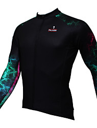 Sport Fahrradtrikot Herrn Langärmelige Fahhrad Atmungsaktiv / UV-resistant / Schweißableitend Oberteile Coolmax Modisch Sommer / Herbst
