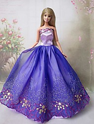 Party & Evening Dresses For Barbie Doll Purple Dresses