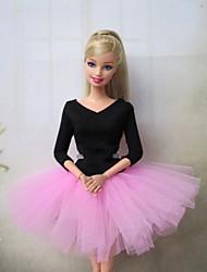 Barbie Doll Sweet Ballet Dress in Pink