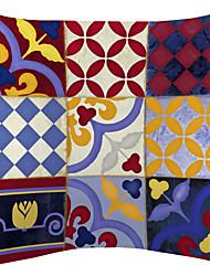 twopages® magique neuf correctif motif velours taie d'oreiller décoratif