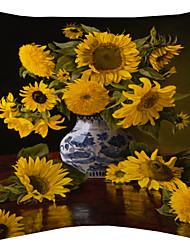 veludo girassol capa almofadas decorativas de Van Gogh
