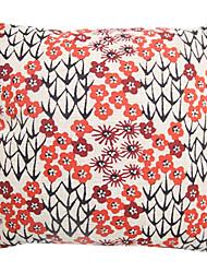 """createforlife® 18 """"travesseiro decorativo quadrado roupa chinesa de algodão pictórica flor de ameixa"""