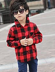 camicia a quadri modello selvaggia del ragazzo