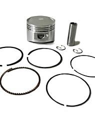Lifan anneaux originaux des moteurs de lf125cc de piston fixés pour fosse de dirt bike motocross atv 52.4mm