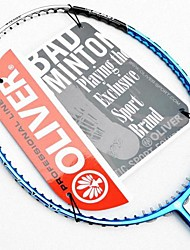 Blue Carbon Fiber Offensive Badminton Rackets ORGANIC 3