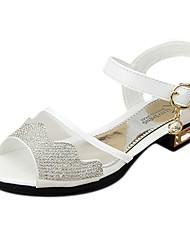 Sandálias ( Branco ) - de MENINA - Slingback