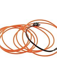 Car Auto 2m 2.3mm longues dia souple el bande fils au néon de corde (12v)