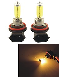 Carking™ KOBO H8 12V 100W 3000K 550LM Yellow Light Car Halogen Headlight(2 CPS)