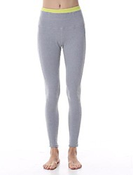 Yoga Pants Bottoms / Pants / Tights / Leggings Four-way Stretch / Held-In Sensation / Zoned Compression High Stretchy Sports Wear Women's