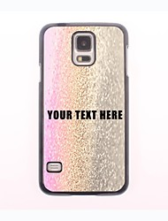 Personalized Phone Case - Three-Color Drop of Water Design Metal Case for Samsung Galaxy S5