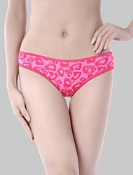 Women's Ice Silk Seamless Panties Soft Underwear Contract Briefs