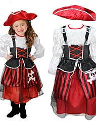 Pirate Girl enfants costume d'Halloween