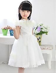 la mode robe arc manches col rond élégance mignon d'enfant morveux