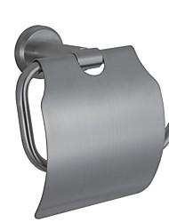 support de tissu de nickel fini contemporaine sus304 accessoire de salle en acier inoxydable