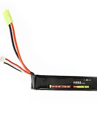 Neewer® Lion Power Rc Lipo Battery 11.1V 1050Mah 20C Akku Airsoft Gun Battery
