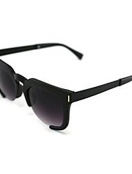 Солнцезащитные очки люди / женщины / Унисекс's Классика / Ретро / Спорт Крупногабаритные Черный / Золотистый Солнцезащитные очки