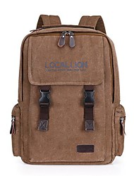 Men's  2015 New Wear-Resisting Canvas Backpack Large Capacity TravelBag