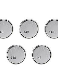 gp CR2016 / dl2016 baterias botão célula de lítio 3v ultrafino (5 peças)