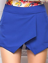 Women's Blue/Pink/Black/Orange Shorts Pants , Casual