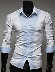 sportstreet bainha camisa dos homens moda lpolka pontos