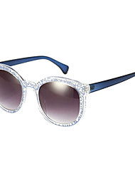 Anti-Reflective Round Plastic Retro Sunglasses