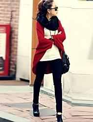 qjbk grande taille chemise de chauve-souris lâche manteau cachemire châle bk009 femmes