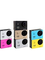 wifi HD1080P w8 30 Meter wasserdichte Sportkamera mit 1,5-Zoll LTPS LCD, wiederaufladbare 900mAh Lithium-Batterie