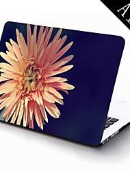 projeto da flor flor de corpo inteiro caixa de plástico de proteção para 11 polegadas / 13 polegadas novo Mac Book Air