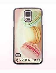 Personalized Phone Case - Bread Design Metal Case for Samsung Galaxy S5 mini