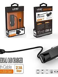 LDNIO® 12V~24V Car Cigarette Lighter Charger Safety voltage for Samsung and Others(5V-2.1A)