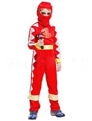 dragón de fuego ninja de los niños traje